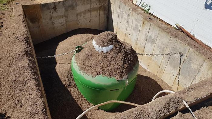 Εγκατασταση Υπόγειας Δεξαμενής Υγραερίου 1000 Λίτρων